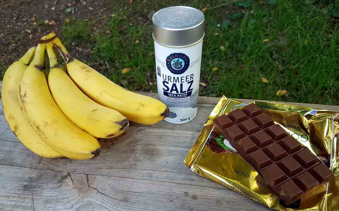 Smile like a banana – dank der Grillbanane ist der Sommer noch nicht vorbei!