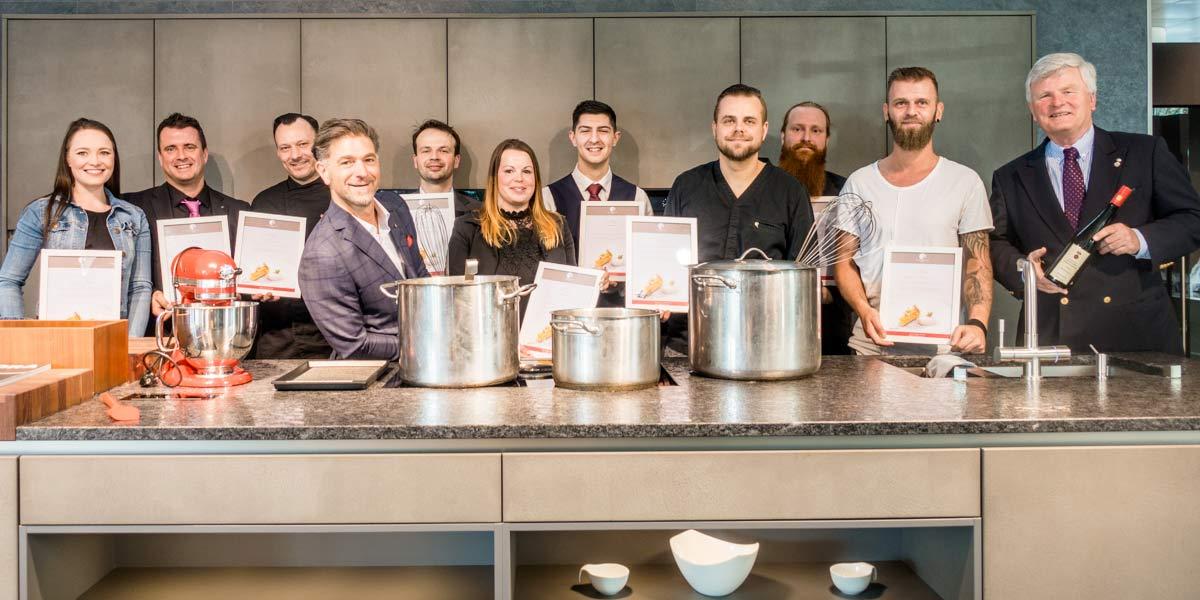 Kochsternstunden 2019 Dresden Sieger und Platzierte Foto Ulrich van Stipriaan