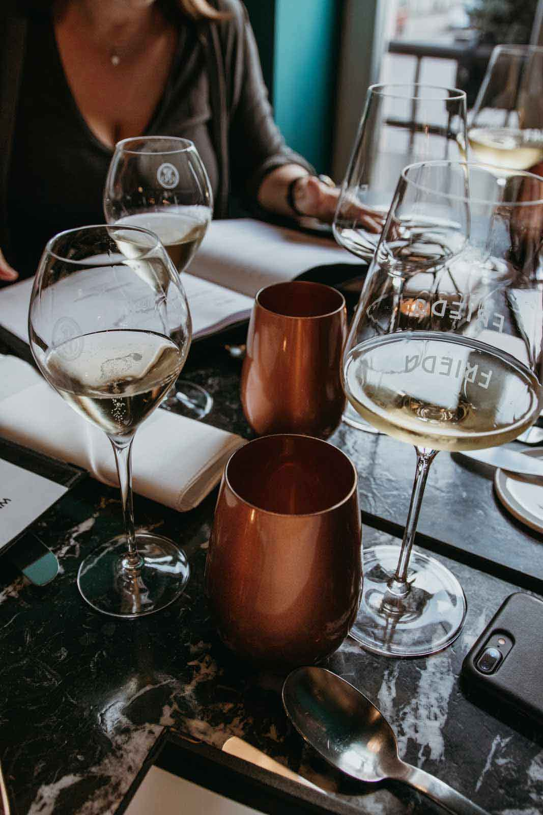 TEAMBRENNER Tipp Gourmet Gastro Restaurant Frieda guter Wein