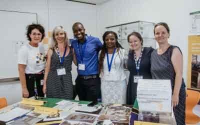 All together now. TEAMBRENNER unterstützt die Partnerschule der Kurt-Masur-Grundschule in Tansania.