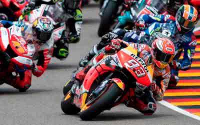 MotoGP 2019 auf dem Sachsenring – Marquez holt 10. Deutschland GP Sieg