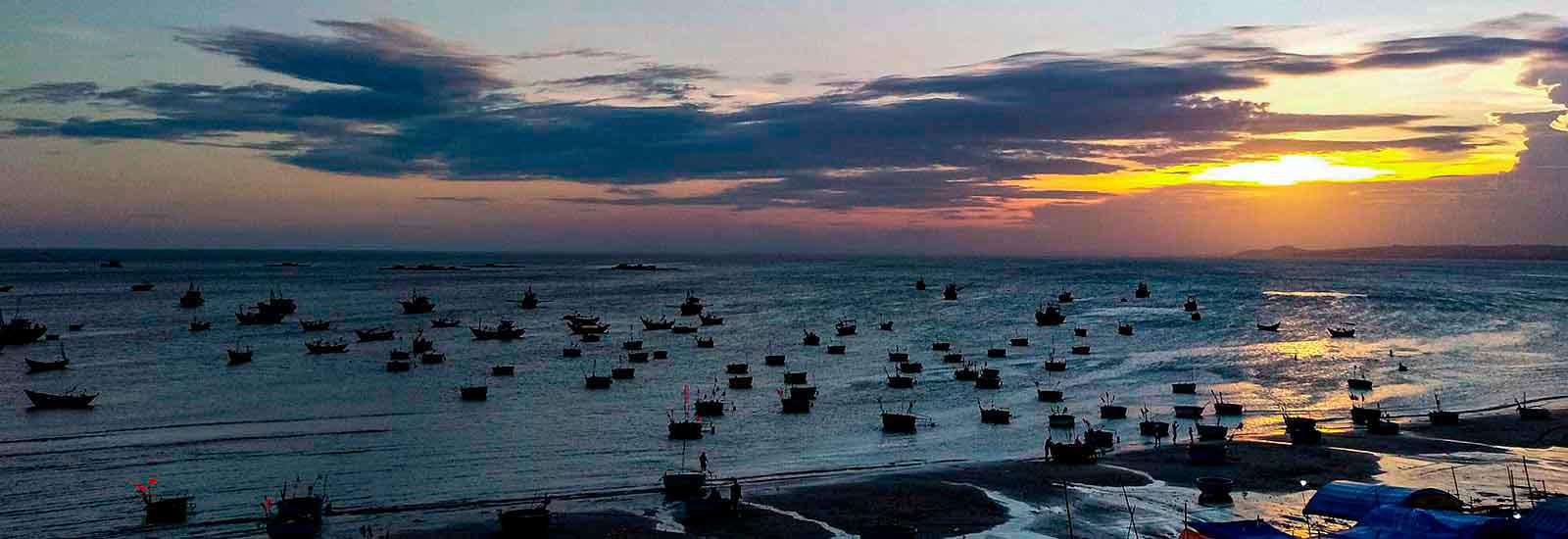 TEAMBRENNER Bildreise Vietnam Mui Ne Ne Cape Sonnenuntergang