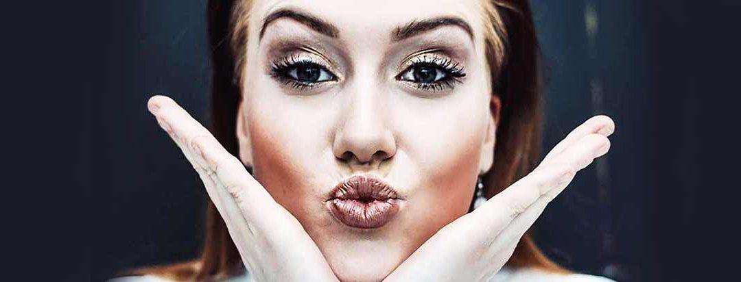 Schnelles und festliches Make-up
