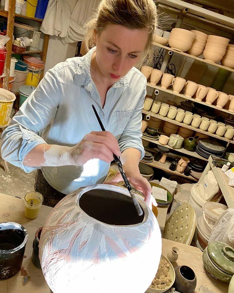 TEAMBRENNER Lichtblicke Interview Franziska M Köllner Keramikerin