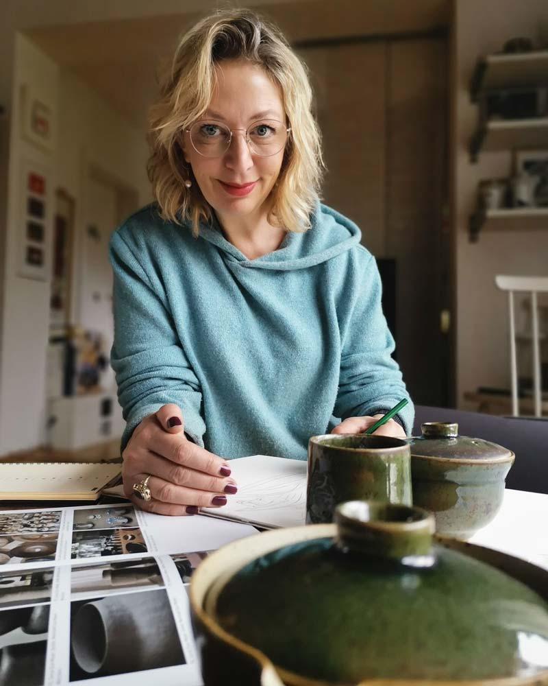 TEAMBRENNER Lichtblicke Interview Silke Wagler Modedesigner