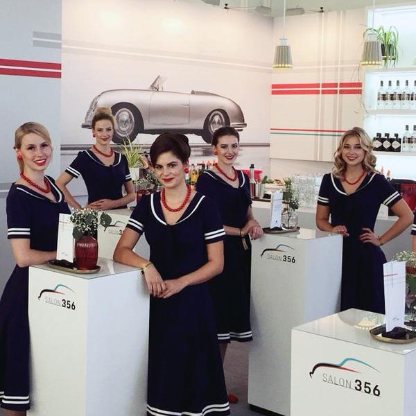 Salon Strese Frisuren zum Leipziger-Opernball bei Porsche TEAMBRENNER Hostessen