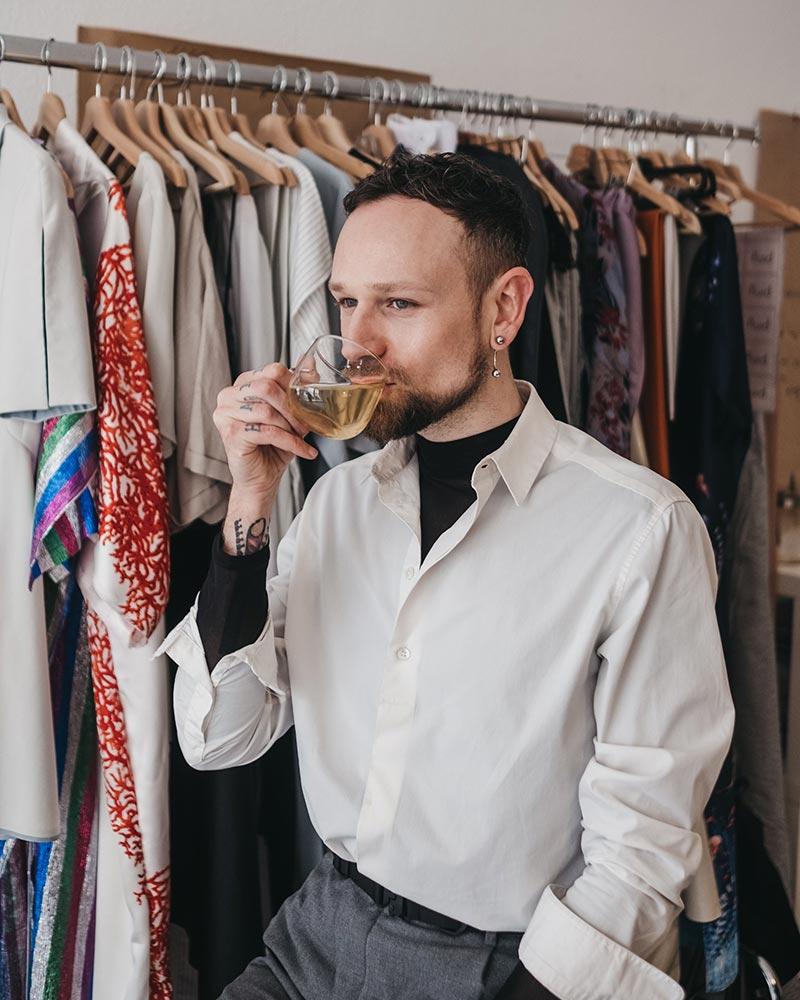 TEAMBRENNER Lichtblicke Interview Modedesigner Viehweg fluid clothing