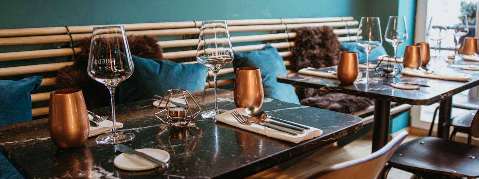 TEAMBRENNER Tipp Gourmet Gastro Restaurant Frieda gemütlich